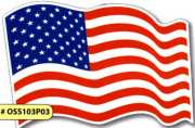 Wholesale Car American Flag Magnets