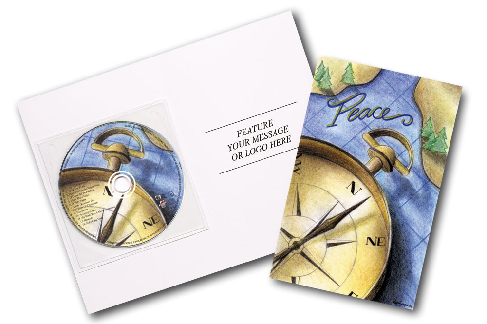 Compass Greeting Card CD
