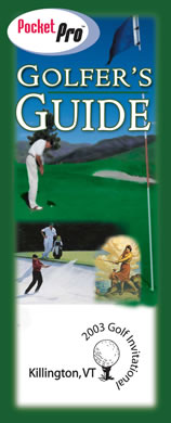 wholesale personalized golf guide