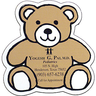 Pediatrician Teddy Bear Magnet