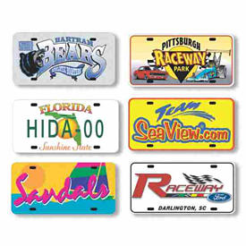 Custom Car Plates in Bulk and Aluminum Car Tags