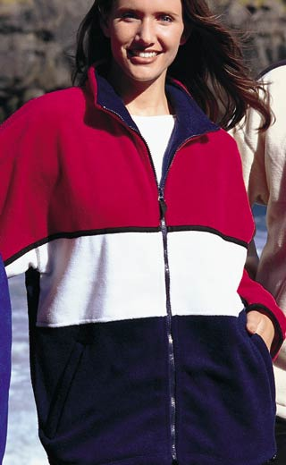 wholesale embroidered fleece jackets