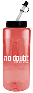 translucent sports bottle wholesale with straw