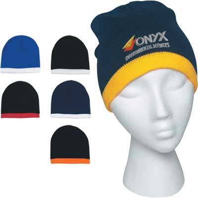 Wholesale Custom Embroidered Knit Beanies. Promotional d77fa9051f76