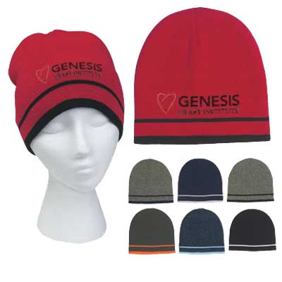 bulk knitted beanies wholesale, custom embroidered
