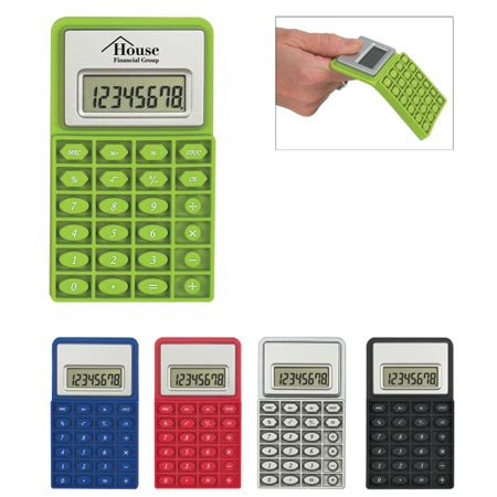 Custom Flexible Calculator Personalized Wholesale