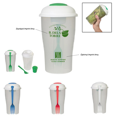 Custom Salad Shaker Personalized in Bulk