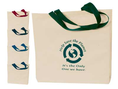 Customized Cotton Tote Bag Embroidered orPrinted