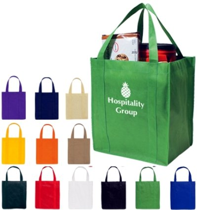 Personalized Shopper Totes -Grocery Shopping Bags in Bulk ...
