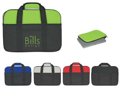Wholesale Neoprene Laptop Case in Bulk, Personalized, Lime Green, Red, Gray, Black or Royal Blue.