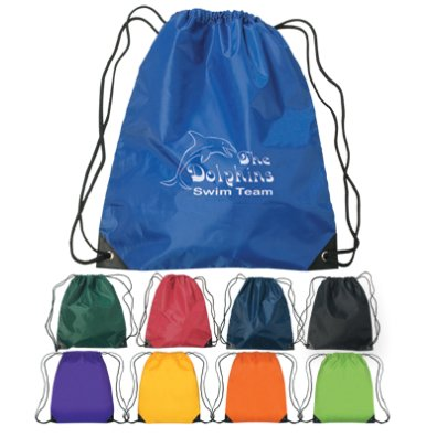 Personalized Drawstring Bags Cheap Backpacks in Bulk Custom Printed.