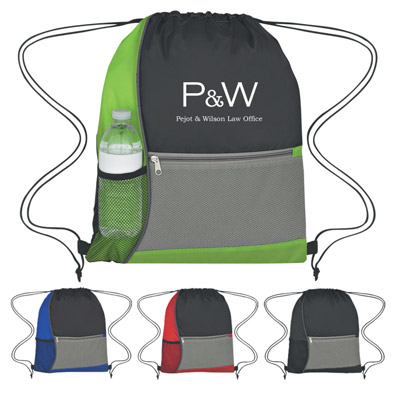 Custom Drawstring Sports Packs Personalized in Bulk