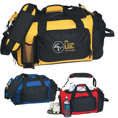 Wholesale Deluxe Sports Duffel Bag in Bulk, Custom Embroidered