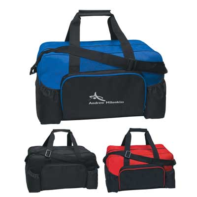 Cheap Wholesale Budget Duffel Bags, Custom Imprinted