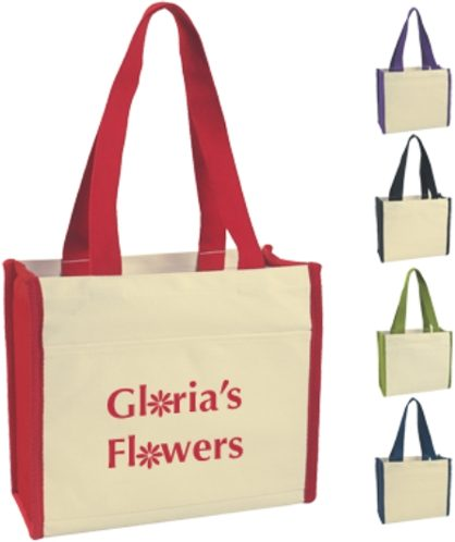 deluxe cotton canvas totes