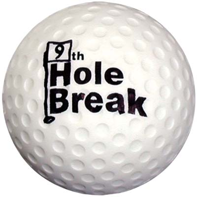 Wholesale Golf Ball Stress Relievers in Bulk, Personalized, white