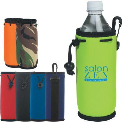 bulk bottle coolers Red, Orange, Royal, Navy, Lime, Camouflage