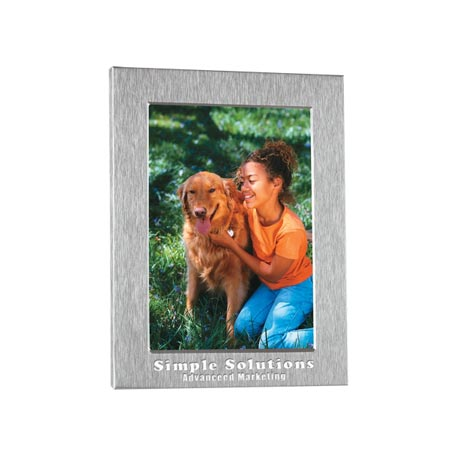"Personalized Photo Frame 4"" x 6"", Laser Engraved"