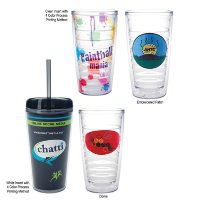 Custom Hot Liquids Clear Tumbler Personalized in Bulk