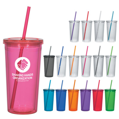 Custom Insulated Acrylic Tumbler Personalized in Bulk