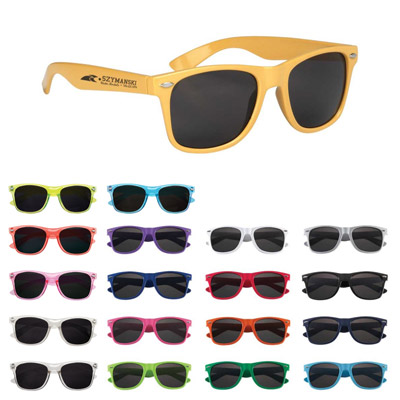 Custom Colorful Sunglasses Personalized in Bulk