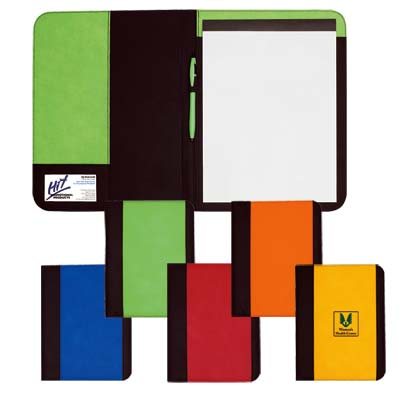 Wholesale Pad Holders in Bulk, Personalized, Lime Green, Yellow, Orange, Red or Royal Blue