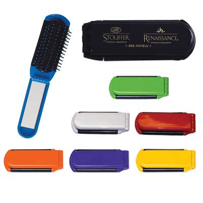 Wholesale Mirror Brushes, White, Black, Blue, Red, Purple, Orange, Yellow or Lime Green.