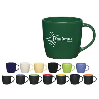 Wholesale Cafe Mugs Personalized in Bulk