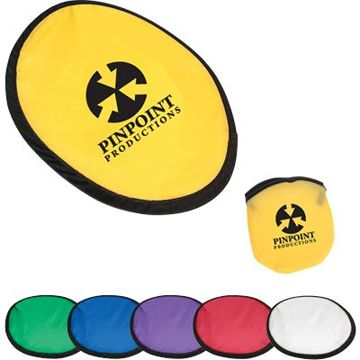 personalized nylon frisbees in bulk, Yellow, Green, Royal Blue, Purple, Red or White