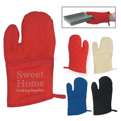 Custom Oven Mitt Personalized in Bulk