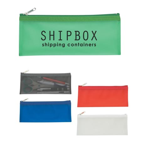 Custom Zippered Pencil Case Personalized Wholesale