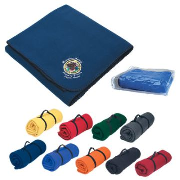 Wholesale embroidered Stadium Blankets, Royal Blue, Red, Burgundy, Dark Blue, Wine, Hunter Green, Forest Green, Black, Orange, Purple, Yellow or Charcoal.