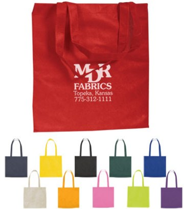 cheap shopping totes, personalized, Pink, Lime Green, Purple, Orange, Ivory White, Black, Red, Forest Green, Navy Blue, Yellow, Royal Blue