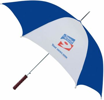 inexpensive personalized umbrellas in bulk, lowest USA price, two tone and solid color