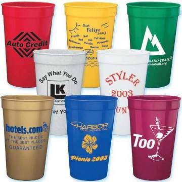 Custom Stadium Cups Personalized In Bulk Cheap
